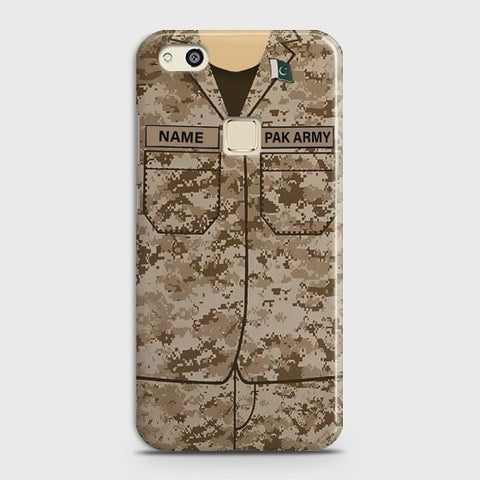 Huawei P10 Lite Army shirt with Custom Name Case - Phonecase.PK