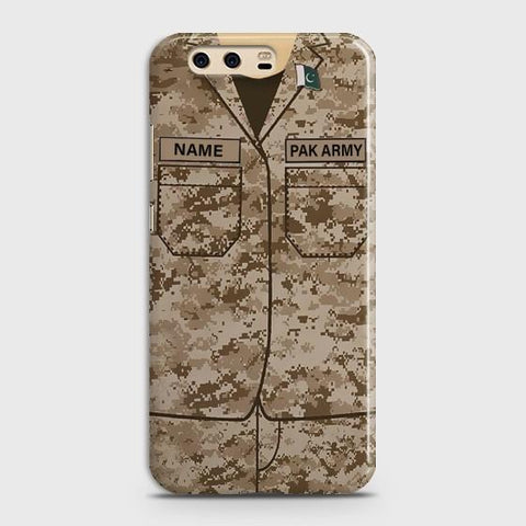 Huawei P10 Plus Army shirt with Custom Name Case - Phonecase.PK