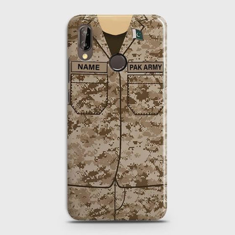 Huawei P20 Lite Army shirt with Custom Name Case - Phonecase.PK