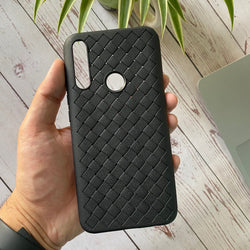 Leather Feel Mesh Shock Proof Case For Huawei Y9 prime 2019/P Smart Z Model