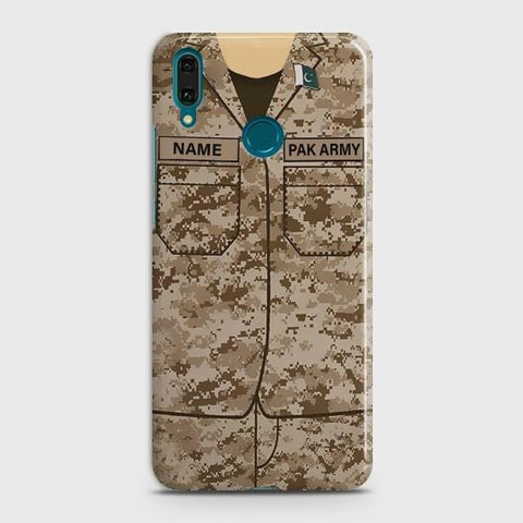 Huawei P Smart Plus Army shirt with Custom Name Case - Phonecase.PK