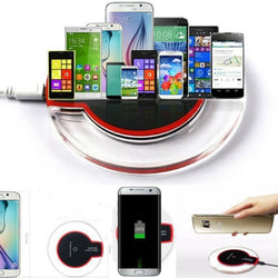 Qi Wireless Charger For Iphone Android & C-Type