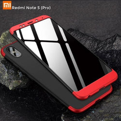 Redmi Note 5 (Pro) Gkk Branded 3 In 1 Hybrid Case