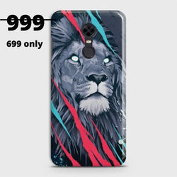 XIAOMI REDMI 5 Plus Abstract Animated Lion Case