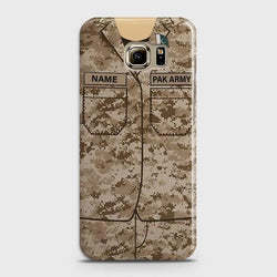 Samsung Galaxy S6 Army shirt with Custom Name Case