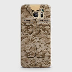 Samsung Galaxy S7 Army shirt with Custom Name Case