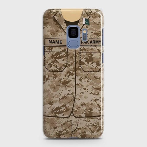 Samsung Galaxy S9 Army shirt with Custom Name Case