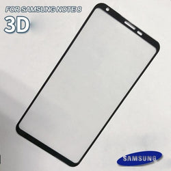 Samsung Branded 3D Glass Edge To Tempered Sumsung Note 8 / Black