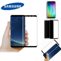 Samsung S8 & Plus 3D Edge To Silk Curved Glass