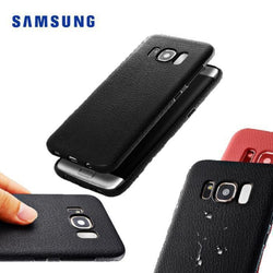 Soft Tpu Leather Case For Samsung Galaxy S8 & S8Plus
