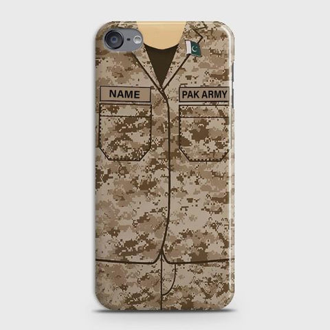 iPod Touch 6 Army shirt with Custom Name Case