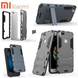 Xiaomi Mi Hybrid Tpu+Pc Iron Man Case & Cover With Kickstand