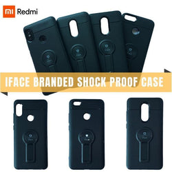 Xiaomi Redmi Iface Branded Shock Proof Case With Kickstand