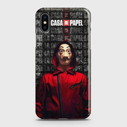 iPhone XS MAX Money Heist Case
