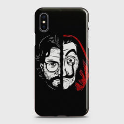 iPhone XS MAX MONEY HEIST PROFESSOR Case