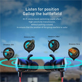 Baseus Gaming In-Ear Earphone 3.5mm Wired Headset For PUBG Gamer Hi-Fi Earbuds With Dual Microphone Detachable