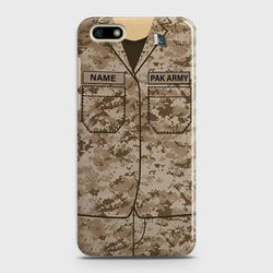 Huawei Y5 Prime 2018 Army shirt with Custom Name Case - Phonecase.PK