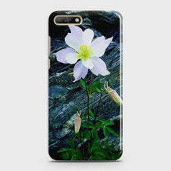 Huawei Y6 Prime (2018) White Flower Phone Case - Phonecase.PK