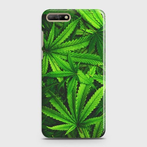 Huawei Y6 Prime (2018) Green Leaves Phone Case - Phonecase.PK