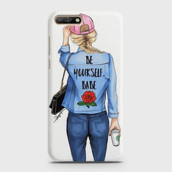 Huawei Y6 Prime 2018 Lady Boss Phone Case - Phonecase.PK