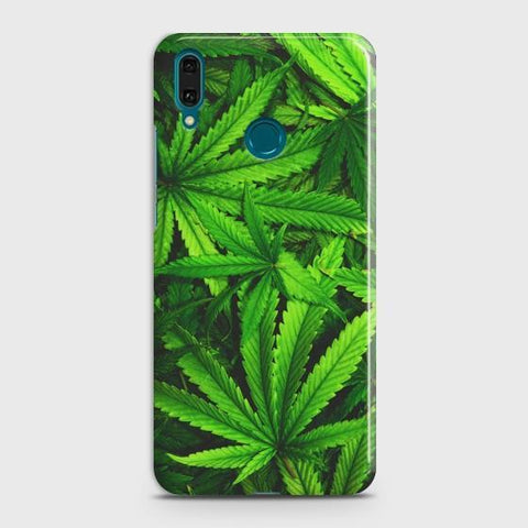Huawei Y9 2019 Green Leaves Phone Case