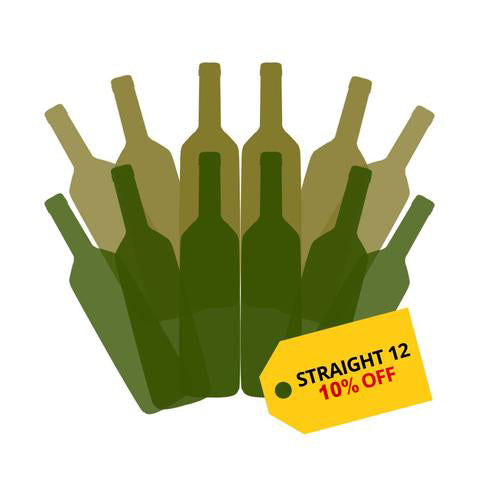Buy straight 12 and get 10% off