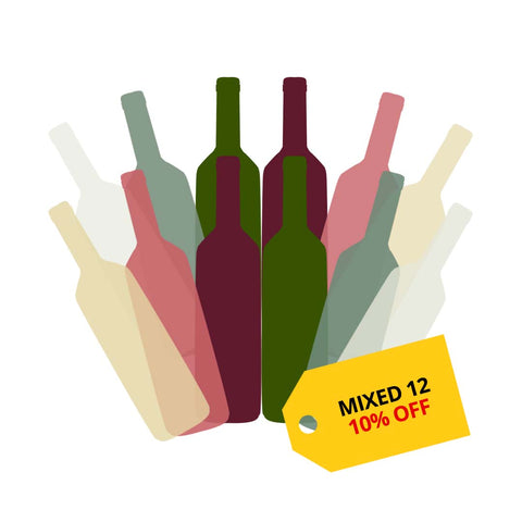 Mixed 12 - Get 10% OFF on wines at Winery PH