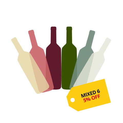 Mixed 6 - Get 5% OFF on wines at Winery PH