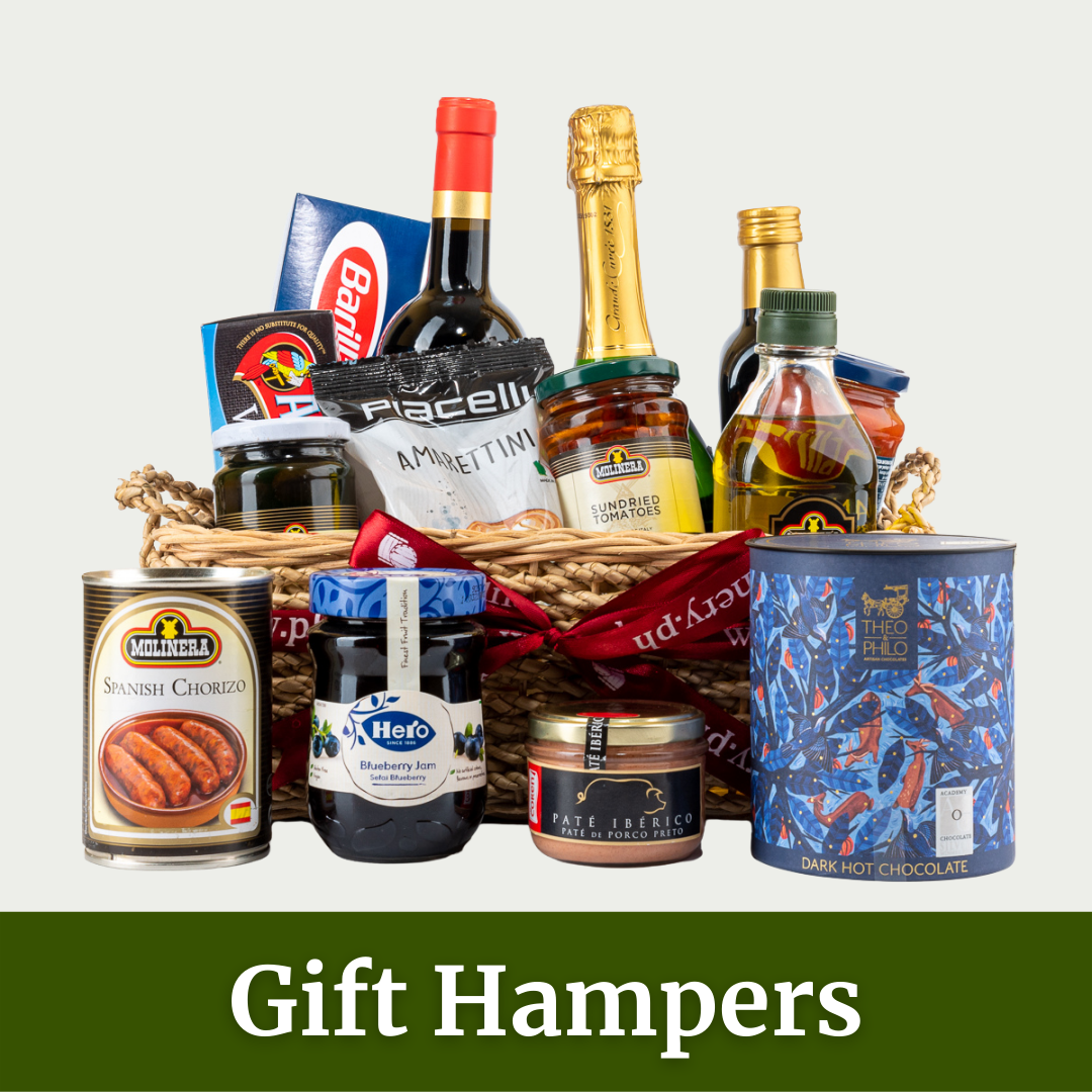 Gourmet Wine and Grocery Hampers