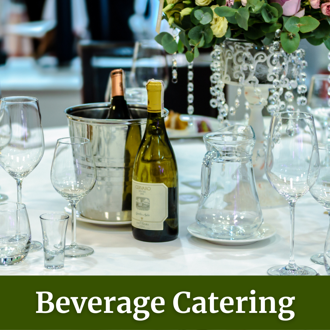 wine and spirits beverage catering