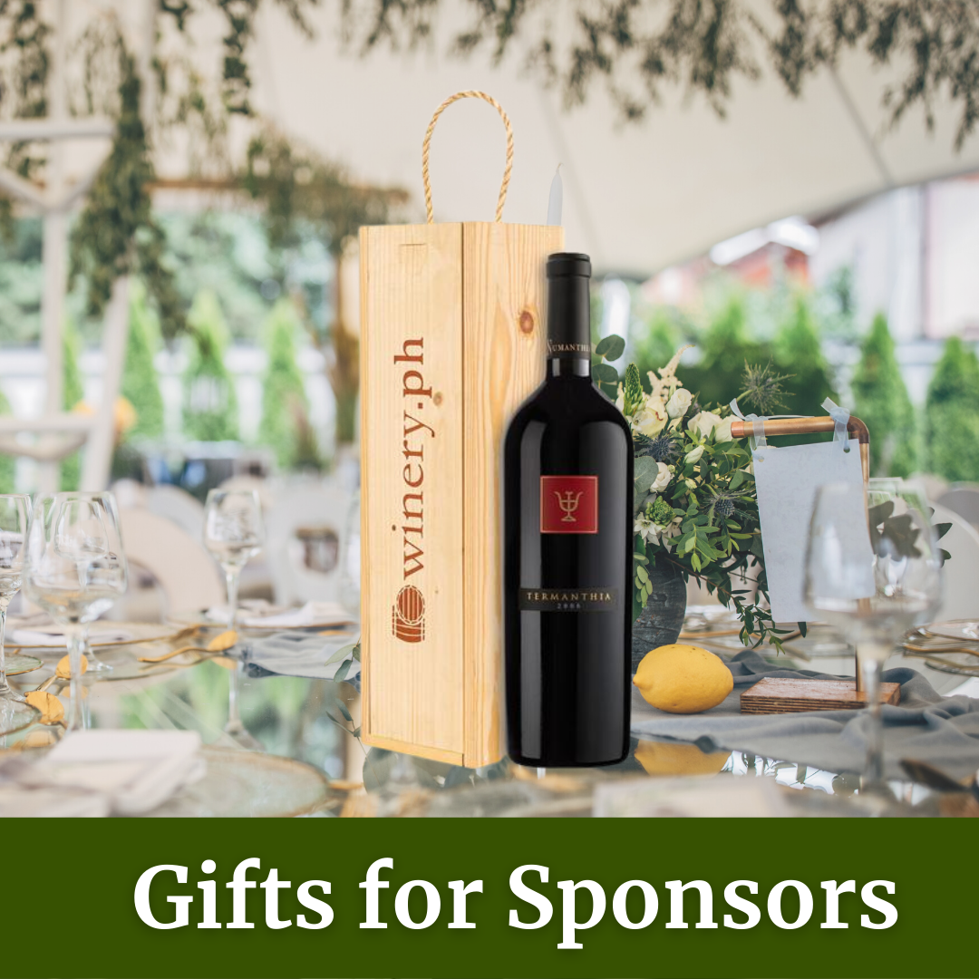 gifts for sponsors and guests