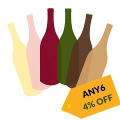 Any 6 - Get 4% OFF on wines at Winery PH