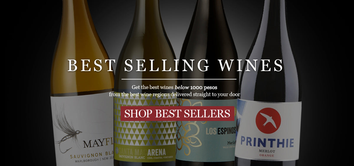 Best selling wines under Php 1,000 now available at Winery.ph