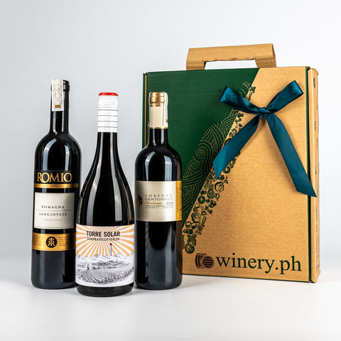 shop dads essential old world red wine gift set