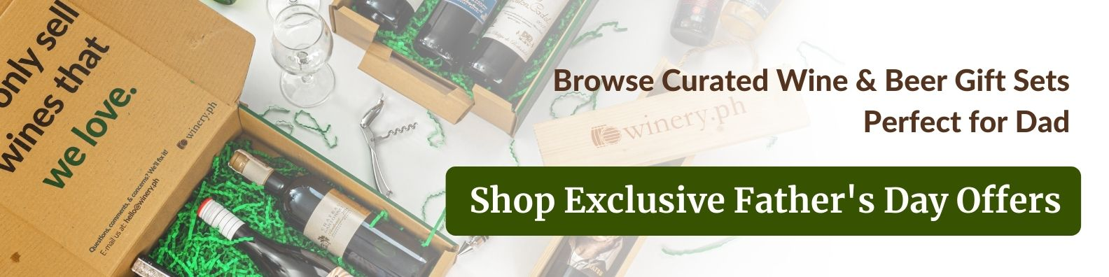 shop curated wine and gift sets for father's day 2021