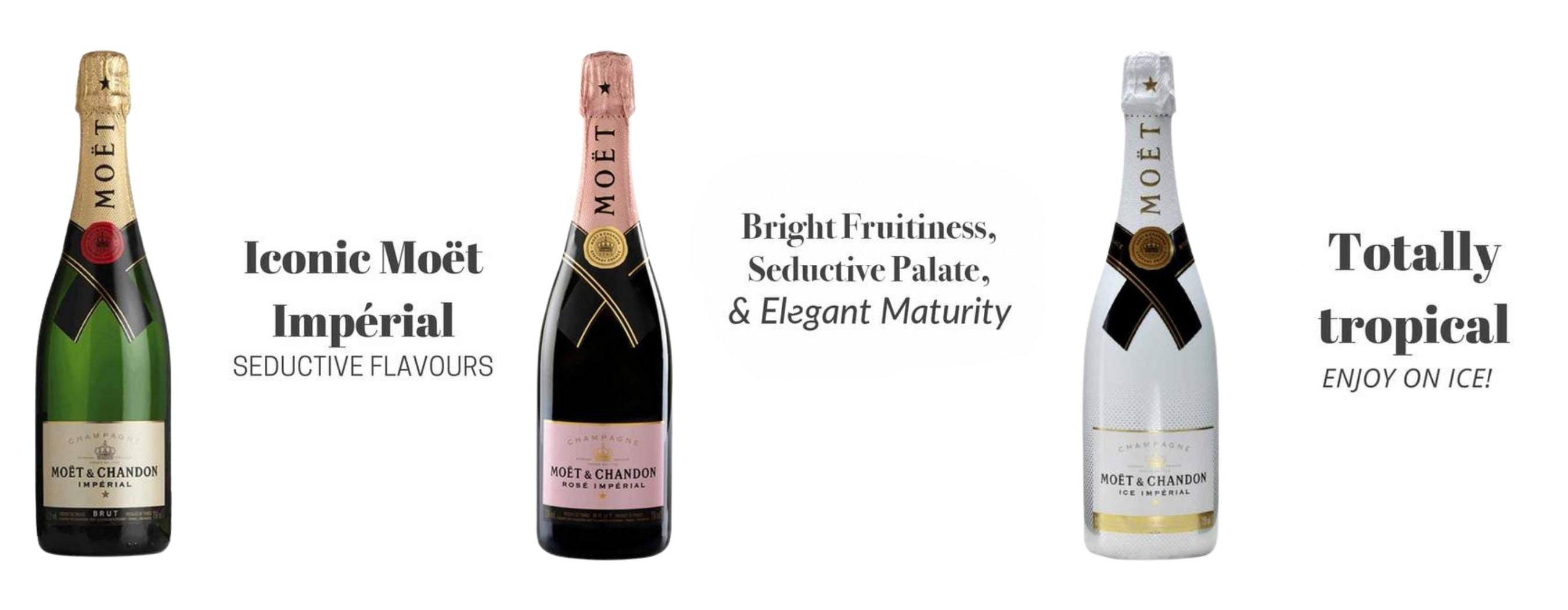 shop moet chandon brut imperial rose imperial ice imperial champagne at best prices online in philippines