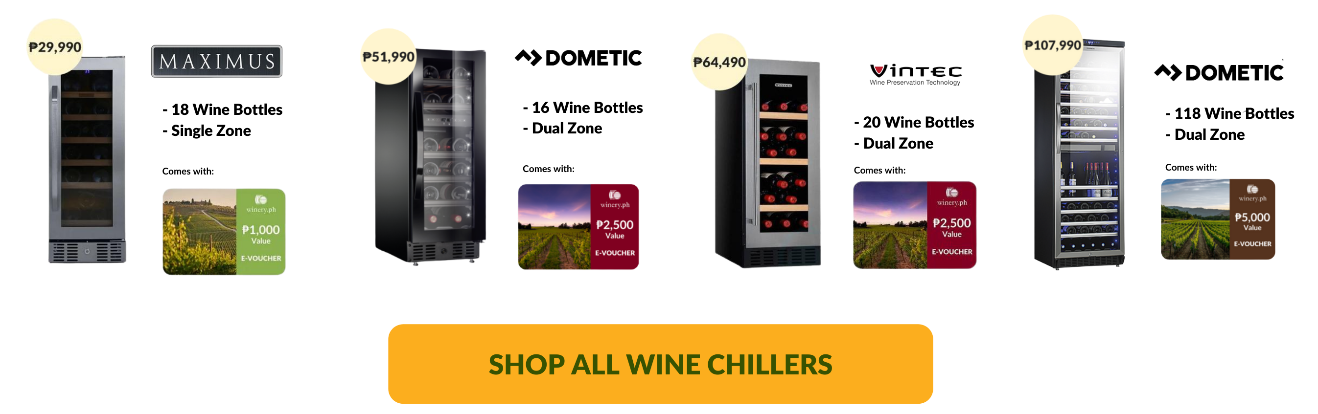 shop wine chillers in the philippines