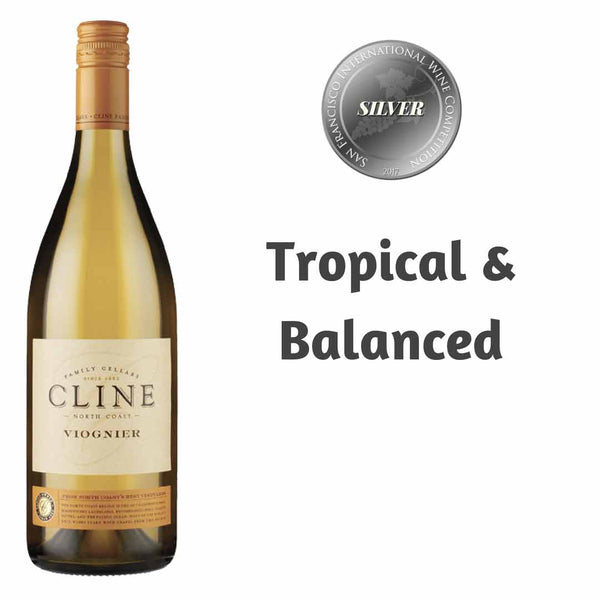 Cline Viognier 2015 White Wine Available Nationwide In The