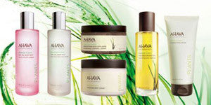 AHAVA Dead Sea Plants Collection