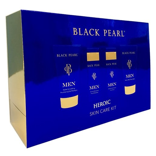 Black Pearl Heroic Men Skin Care Kit - deadseashop.com