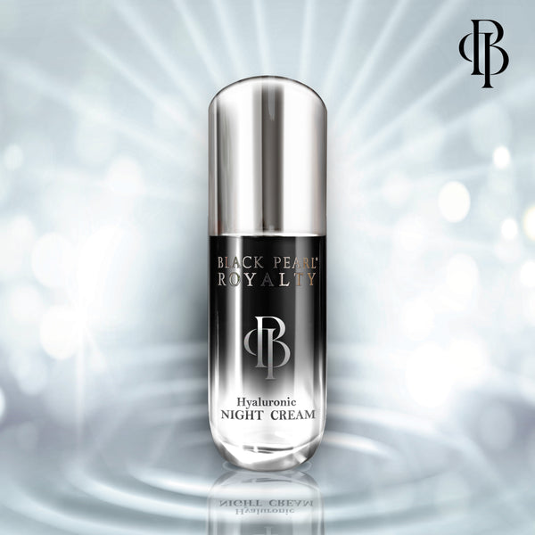 Black Pearl Royalty Hyaluroni Night Cream - deadseashop.com