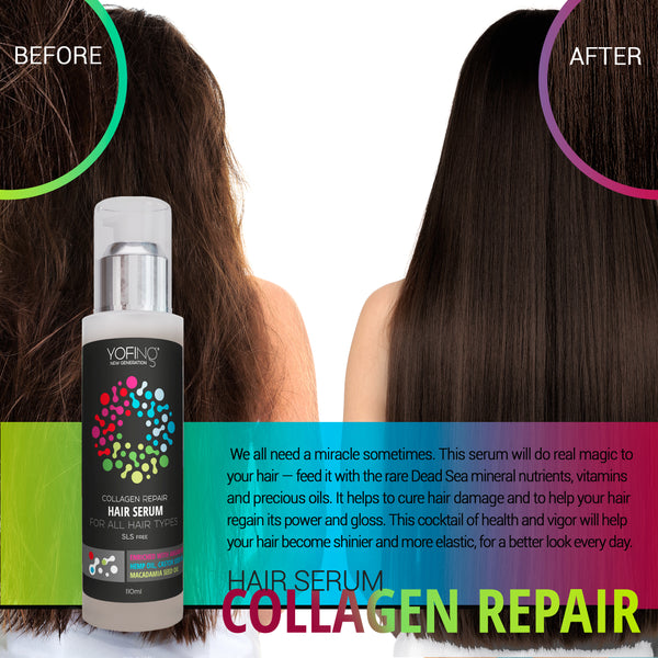 YOFING - Hair Serum With Collagen - DeadSeaShop.com