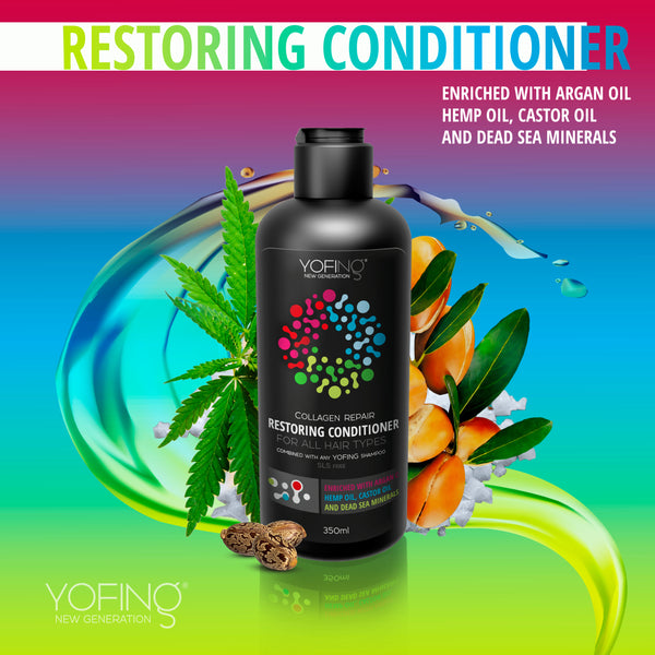 YOFING - Restoring Conditioner - DeadSeaShop.com