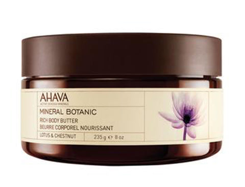 Mineral Botanic Body Butter - Lotus & Chestnut