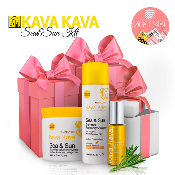 Kava Kava Sea&Sun Kit - deadseashop.com