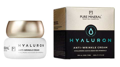 Pure Mineral - Anti-Wrinkle Cream - Hyaluron - deadseashop.com
