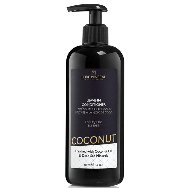 Pure Mineral - Coconut Leave-in Conditioner For Dry Hair - deadseashop.com