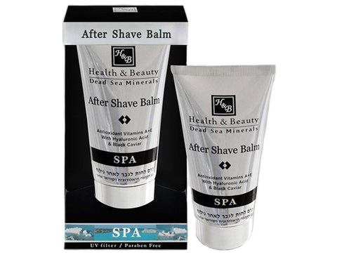 After Shave Balm with Hyaluronic Acid & Black Caviar