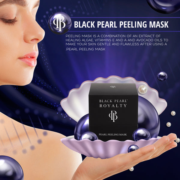 Black Pearl Royalty - Peeling Mask - DeadSeaShop.com