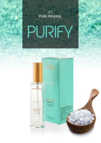 Pure Mineral - Body Oil Serum - DeadSeaShop.com